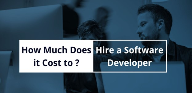 The hiring cost of a software developer team