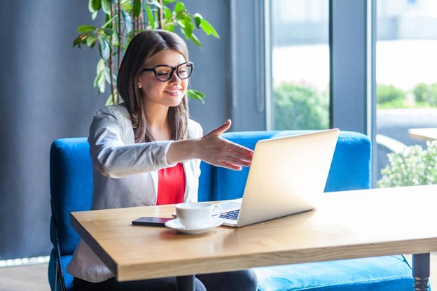 Virtualize the hiring process if candidates have the proper device